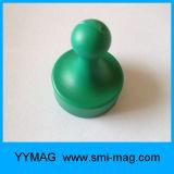 Magneten de van uitstekende kwaliteit van de Speld van de Duw van het Neodymium voor Magnetische Zeer belangrijke Houder