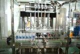 Машина завалки бутылки Гуанчжоу автоматическая с покрывая обозначая линией