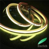 Lâmpada de néon do silicone do diodo emissor de luz de DC24V 84LED/Meter RGB para a decoração da barra