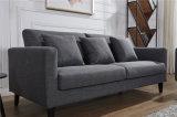 Sofà durevole del tessuto di ultimo disegno per mobilia sezionale domestica