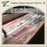 Fábrica Marrón / Negro de carpintería Finger Joint construcción de madera contrachapada