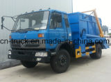 4X2 Dongfeng 8cbm Hydraulic Arm Refuse Camion à ordures
