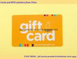 Cartes dans la carte de plastique de carte de PVC de carte de cadeau