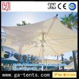 ضخمة مظلة شكل ظلة ظل خيمة مع [بفدف] تغذية