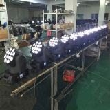 DMX Discoteca Farol de LED de movimentação de fase de 12X12W