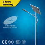 Long Rainy Days Backup Solar Street Light avec ce certifié