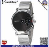 Novo Design-371 Yxl tira de malha Mens Watch Quartz Cronógrafo Digital Relógios de moda de Aço Inoxidável