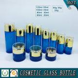 Estetiche che impaccano i vasi di vetro dell'estetica della bottiglia e di vetro della lozione della pompa