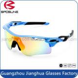 2016 óculos de sol UV400 China Creat por atacado novos do gato 3 seu próprio tipo polarizado com os óculos de proteção de ciclagem do golfe do voleibol da inserção do Myopia