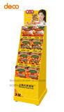 Supermarkt-Metallbildschirmanzeige-Zahnstangen-Bildschirmanzeige-Regal für Einzelverkauf