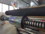 Papel de aluminio que raja la máquina el rebobinar
