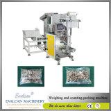 Peças pequenas da ferragem do saco, máquina de embalagem comercial da caixa das peças de metal