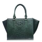 Borse di lusso del progettista del coccodrillo del sacchetto di mano di marca della signora cuoio genuino
