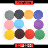 Roulette-eingesetzter/Normallack ABS Schürhaken-Chips können kundenspezifisches oder Druck-Firmenzeichen Ym-RP01 sein