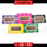 760 estilos do PCS Texas Holdem/chipset do póquer etiqueta da argila para o jogo de jogo Ym-Mgbg003