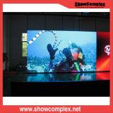 Écran de location polychrome d'intérieur d'Afficheur LED de la haute précision P3.91