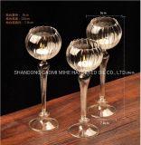 Supporto di candela di vetro di Tealight, supporto di candela della decorazione