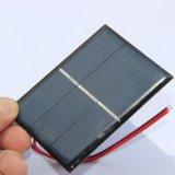 pila solare policristallina del caricatore solare di 0.65W 1.5V DIY