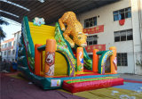 Amazing Grassland Animals Theme Inflatable Slide (CHSL607)