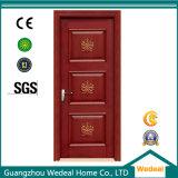 Puertas de la mancha de óxido de madera de roble rojo para los hoteles