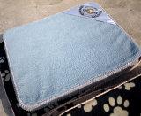 Bâtis d'animal familier de velours de grand dos d'éponge de garnitures de sommeil de coussin de crabot de qualité