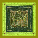 Bella sciarpa di seta di modo 100% delle donne di vendita delle stampe calde di Digitahi (F13-0046)