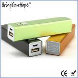 2600mAh 금속 휴대용 배터리 충전기 (XH-PB-003)