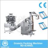 De automatische Verpakkende Machine van de Snack van de Popcorn van de Spaanders van de Garnalen van de Crackers van de Garnaal