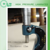 Estratificação da alta pressão do estojo compato verde (HPL 18mm)