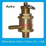 Válvula de cobre amarillo del latón de la seguridad del Ce de Aetv mini