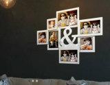 Пластичная рамка фотоего коллажа стола верхней части таблицы