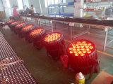la PARITÉ polychrome imperméable à l'eau de 24PCS DEL peut lumière extérieure