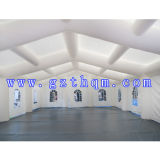 Tent van het Huwelijk van het Geteerde zeildoek van pvc de Opblaasbare voor Gebeurtenis/Koepelvormige Opblaasbare het Kamperen Tent