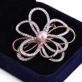 Flower Brooch Rhinestone моды ювелирных изделий