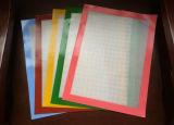 Vente chaude en silicone de haute qualité en fibre de verre recouvert de tapis de cuisson