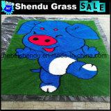 床のためのプラスチックが付いている草のマット