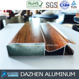 Formato di colore personalizzato grano di legno di alluminio di alluminio del Governo della mobilia di profilo