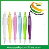 Crayon lecteur de bille en plastique promotionnel estampé personnalisé