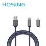 Cabo cobrando rápido do USB da sincronização do Pin da venda por atacado 8 para o iPhone 7