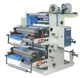 Machine van de Druk van Flexo van het Blad van twee Kleur de Plastic (yt-2600)