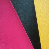 Couro PU de cor para capas de livros Hw-140928