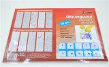 Auto Adhesivetransparent PVC imprime la cubierta de libro 50X36cm
