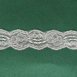 Merletto elastico della guarnizione del tessuto netto per le decorazioni