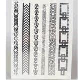 Стикер Tattoo искусствоа стикера Tattoo способа металлический временно