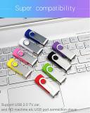 Movimentação da pena da movimentação do flash do USB do giro 2GB-64GB da cor dos doces