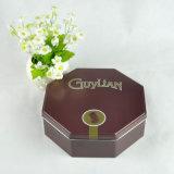 Octangonの形チョコレート錫ボックスギフトの缶