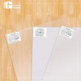 Folha de tereftalato de plástico para um cartão de identificação