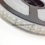 Diseño único 120LED / M de doble hilera 5050 Cinta de luz LED