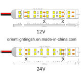 UL-doppelte Zeile 240LEDs roter SMD1210 (3528) LED Streifen