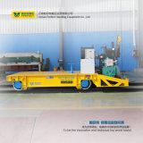 Acoplado industrial pesado de la carretilla de la transferencia en los carriles